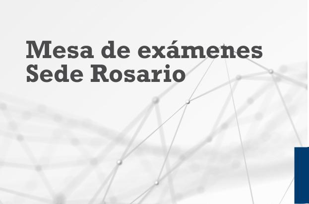 Exámenes Rosario